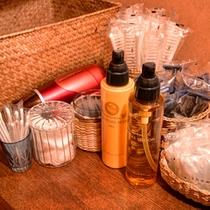*【アメニティ】敏感肌もやさしく潤うPOLA化粧品等取り揃えています。