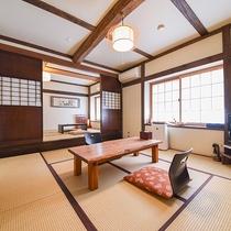 *【客室:かたくり】趣向の異なるお部屋をご用意しております