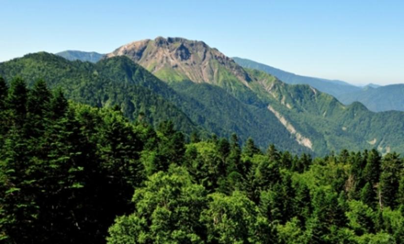 焼岳登山口