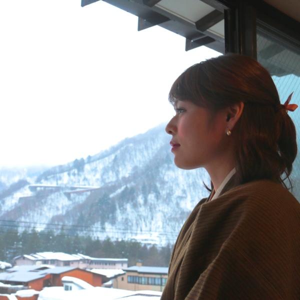 【客室】奥飛騨の山々が目の前に。新緑、紅葉、雪景色。。四季折々、自然の美しさに心癒されます。