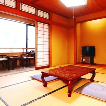 【個室でお食事】 新館和室10畳 広縁+トイレ付
