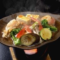 青森豆腐と陸奥湾ホタテの味噌田楽焼き