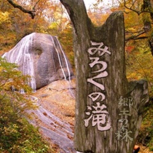 田子町みろくの滝