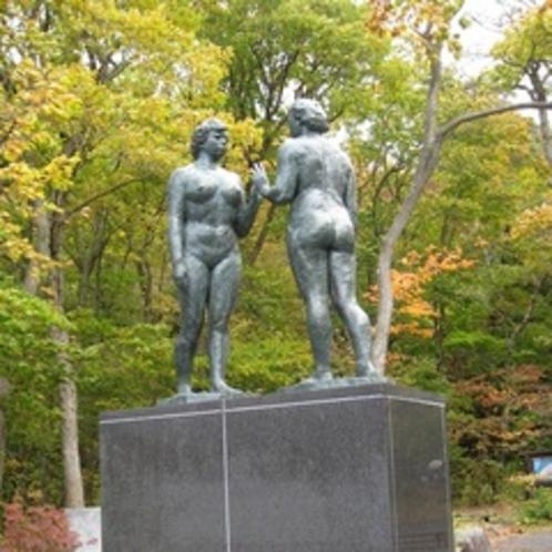十和田湖 乙女の像
