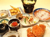 三大蟹&たこしゃぶ(イメージ)