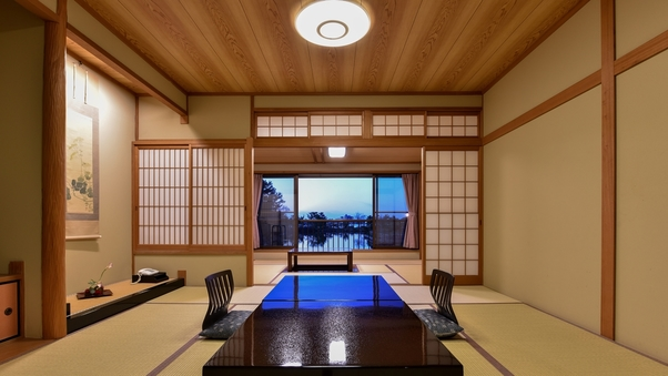 *庭園レイクビュー和室8〜10畳(禁煙)