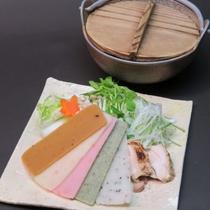 晩秋の会席料理例(11月-12月)