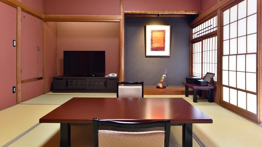 *【特別室 10畳~】(禁煙・自家源泉100%かけ流し風呂付)