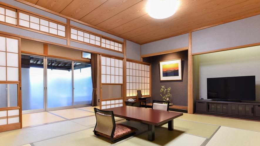 *【特別室 10畳+ベット付】(禁煙・自家源泉100%かけ流し風呂付)