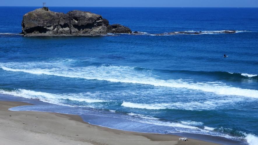 *【白兎海岸】当館からお車で30分 因幡の白兎伝説で有名な白兎海岸がございます。