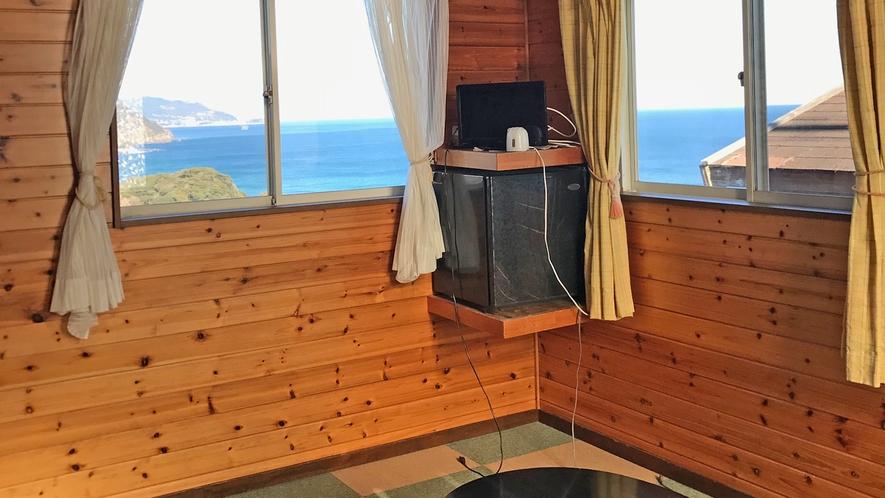 海眺望の106号室