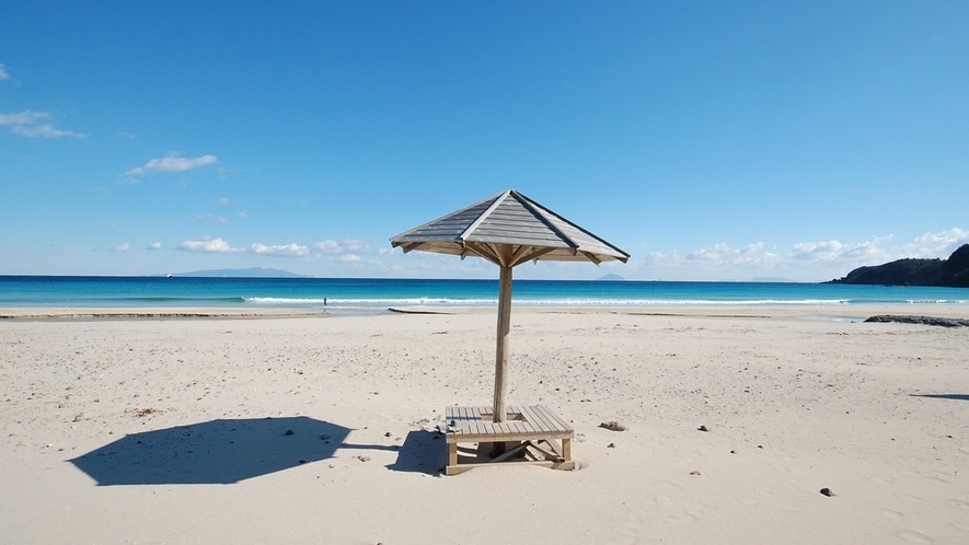 *[白浜大浜海岸/車で50分]抜群の透明度と極めて良好な水質!白砂の美しい白浜大浜海岸。