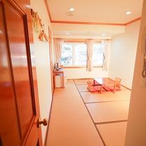 *[和室8畳一例]小さなお子様連れに人気の和室は1室限定!ご予約はお早目に。