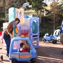 *[屋外キッズパーク]早めに来てゆっくり遊ぶのもOK!庭園内にある安心のキッズパーク。