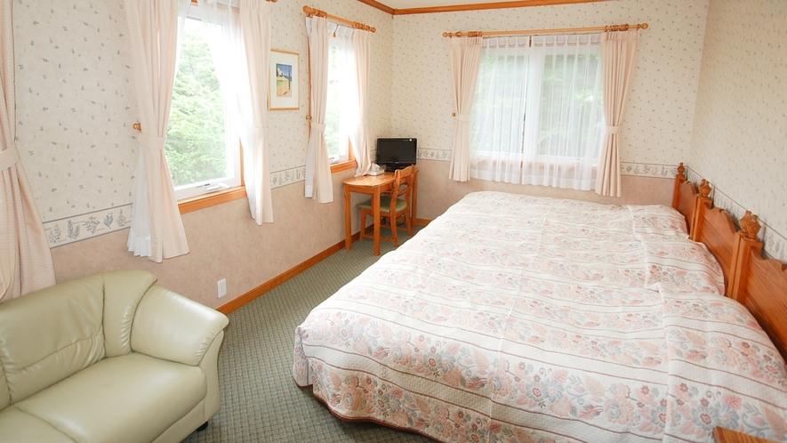 *[トリプルルーム一例]広さ約19~22平米のゆったりとしたお部屋。