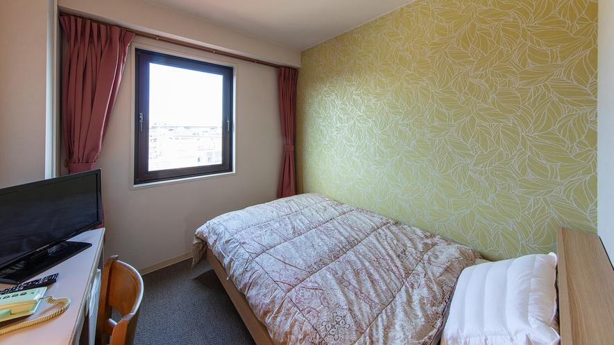 【シングルルーム】リニューアルで綺麗になったお部屋でゆっくりお過ごしください♪