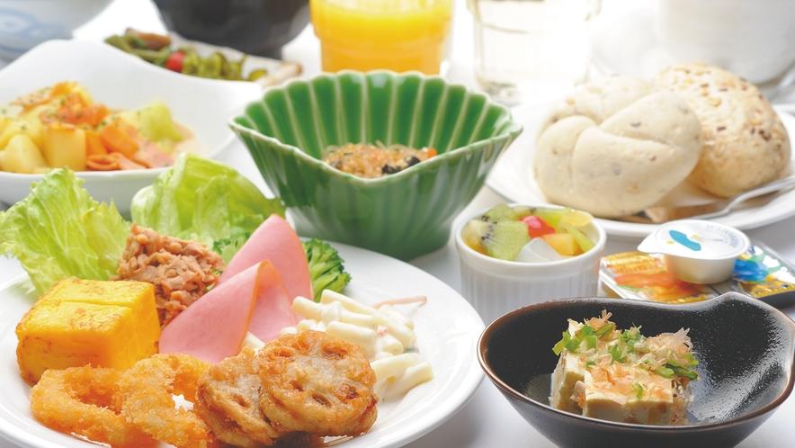 バイキング朝食(イメージ写真)