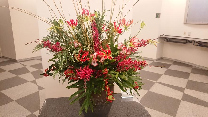 1Fエントランスの花