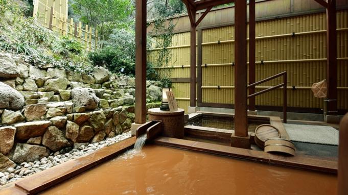 【個室ダイニング】神戸ビーフのステーキ150gがメインの会席料理と8か所の家族風呂