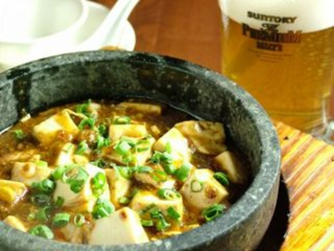 石焼麻婆豆腐(地下1階「餃子屋台」)
