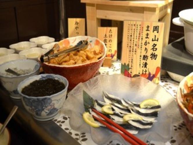 《ご朝食》岡山名物一例「ままかりの酢漬け」