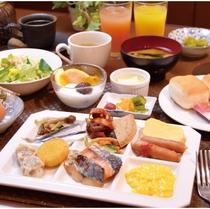 40種類以上のメニューがあじわえる朝食ビュッフェ
