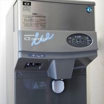 製氷機は5Fランドリーコーナーにございます。