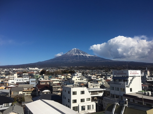 【富士山が見えるお部屋】富士ミネラルウォーター付きプラン