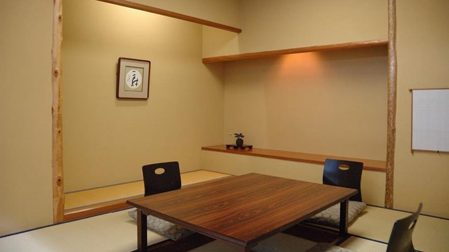 1階「日本料理 胡蝶」胡蝶個室は計4室ございます(別途料金)写真は『5の間』