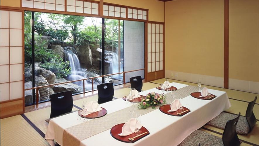 1階「日本料理 胡蝶」胡蝶個室は計4室ございます(別途料金)写真は『3の間』