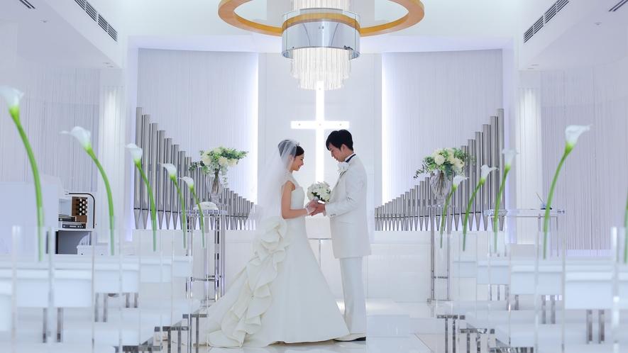 結婚式会場 チャペル