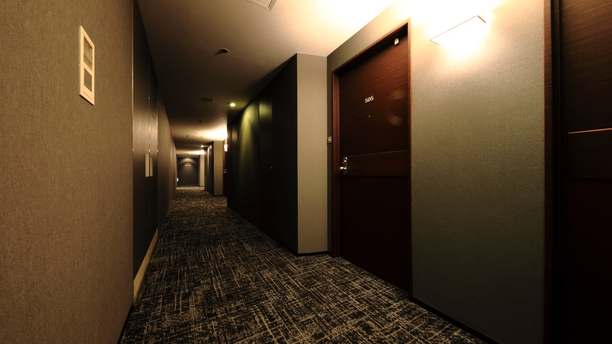 スタンダードルーム(一部)廊下