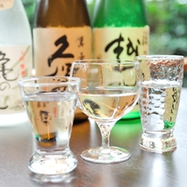きれいな水と美味しいお米で作られる新潟の地酒をご堪能頂けます(イメージ)