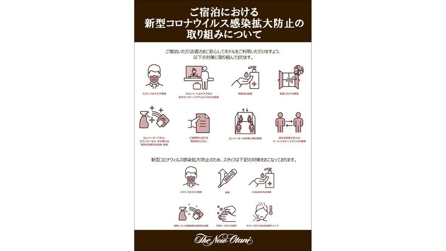 コロナ感染対策(ピクトグラム)
