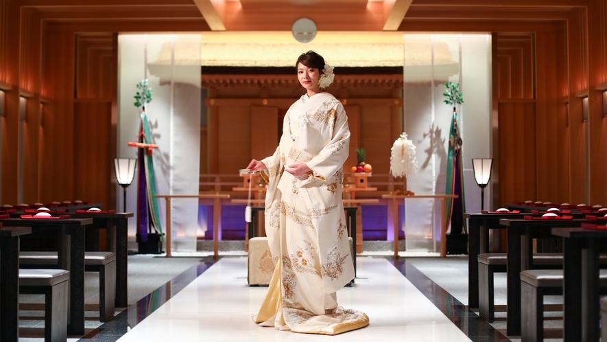 結婚式会場 神殿