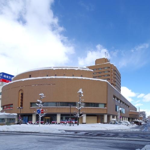 施設の外観(冬)