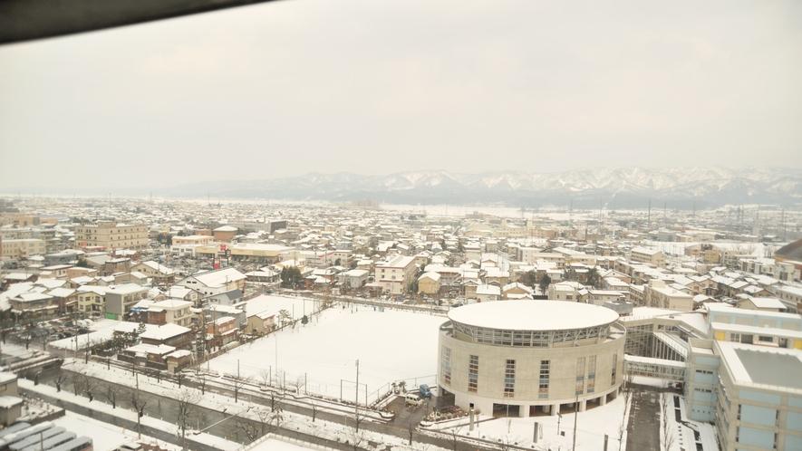 東側眺望(冬)