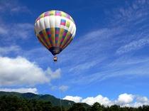 [バルーン]夏の安曇野は楽しい自然体験アクティビティがいっぱい!