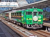 [トロッコ列車]「びゅうコースター風っこ」はファンも多いローカル線