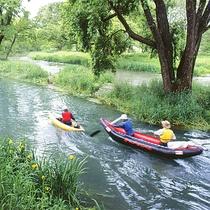*[万水川]カヤックで美しい水の流れの上をのんびりお散歩♪