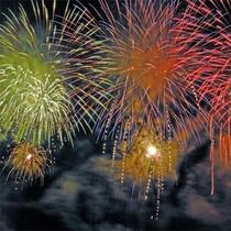 *[安曇野花火大会]毎年人気の夏の一大イベント