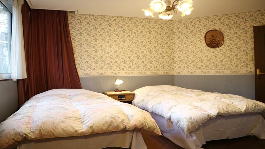*[ツインルーム(S)]シングル2台の角部屋はカップルに1番人気