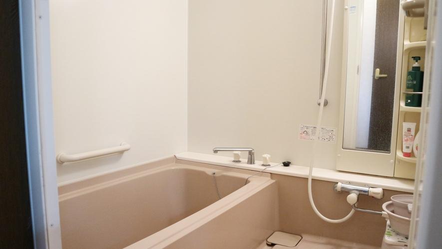 *[特別室]特別室には客室専用のバスルーム付きで便利