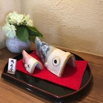 *端午の節句【菖蒲の節句】の飾りがGW期間のKEYAKIを彩ります。
