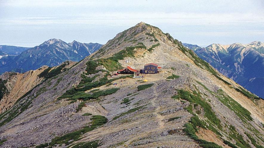 *[燕岳]当館は燕岳登山の拠点としてもご利用いただけます