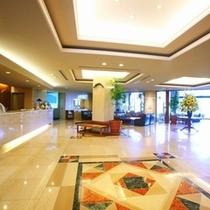 ホテルフロントロビー