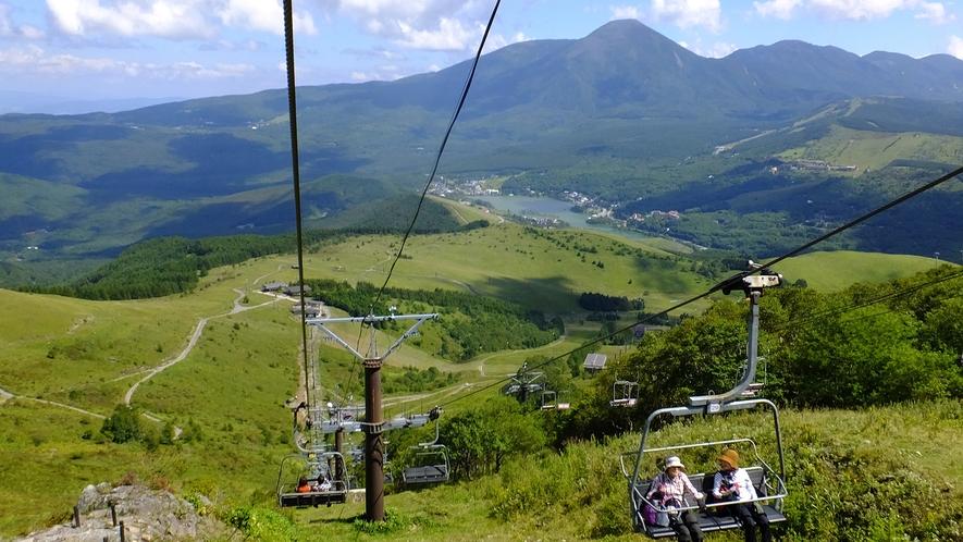 車山高原夏山リフト