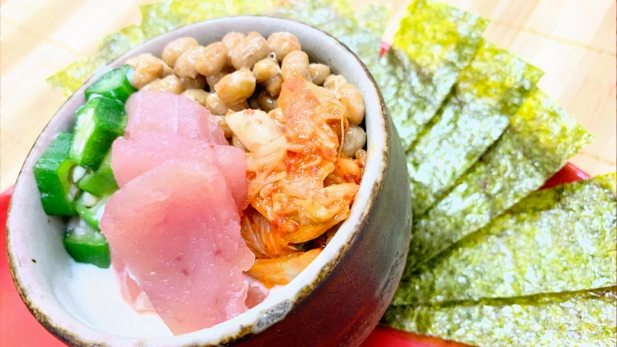 【夕食】海鮮ばくだん丼