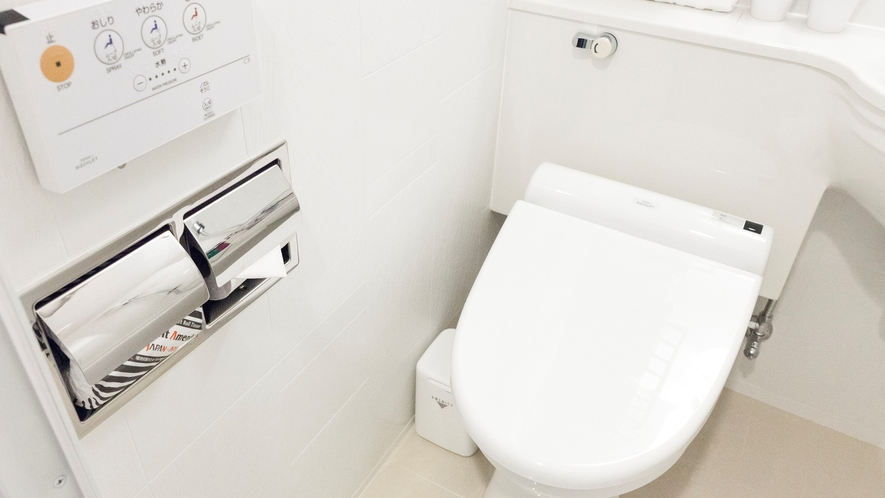 ■温水洗浄機能完備