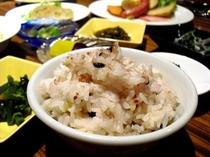 【朝食のこだわり】きくち古代米入り雑穀ごはん